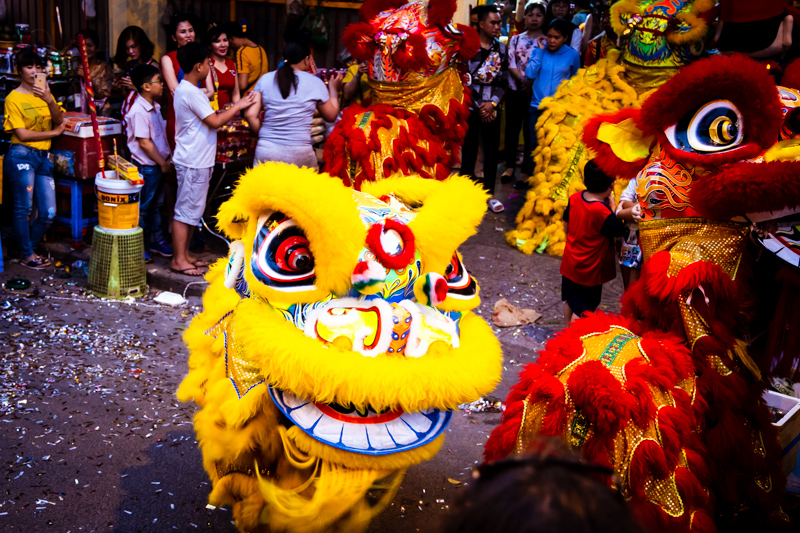 Dragon Dance during Tet | Ho Chi Minh City, Vietnam by Robert Metz