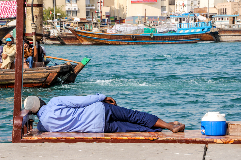Break at the Creek | Dubai Creek, UAE by Robert Metz