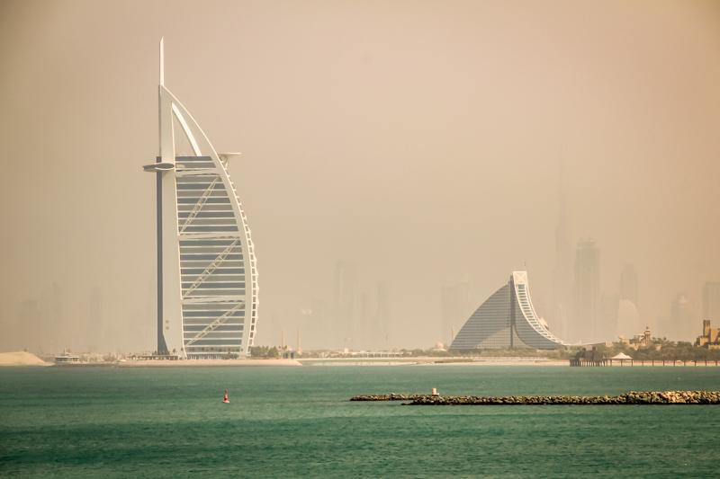 Burj Al Arab Jumeirah   Dubai, UAE by Robert Metz