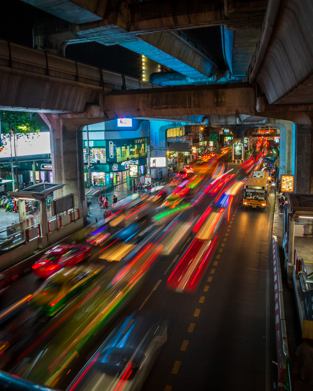 Rush Hour | Bangkok, Thailand by Robert Metz