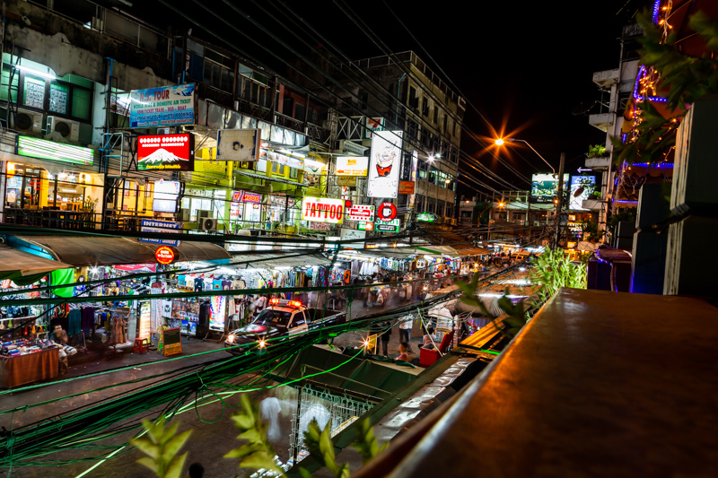 Neon Lights at Khao San Road | Bangkok, Thailand by Robert Metz