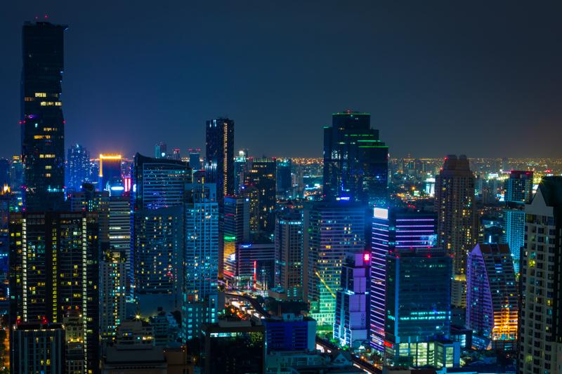 Citylights   Bangkok, Thailand by Robert Metz