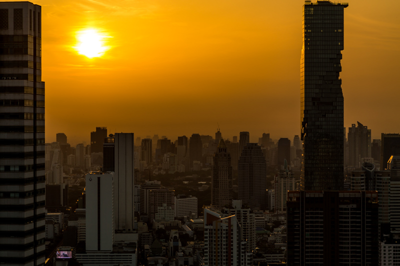 Sunrise over the City | Bangkok, Thailand by Robert Metz