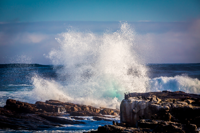 Breaking Waves | Cape of Good Hope, South Africa by Robert Metz