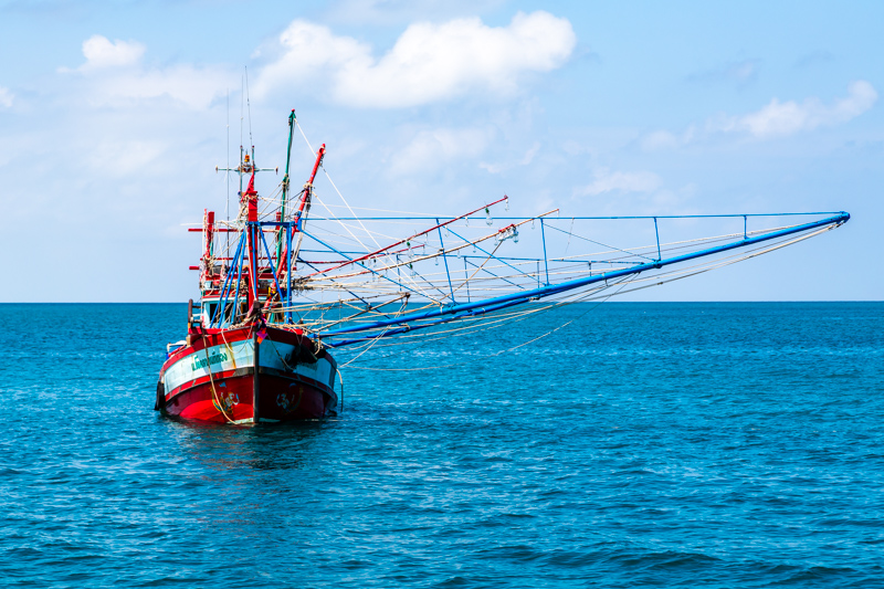 Shrimp Fisherboat | Gulf of Thailand by Robert Metz