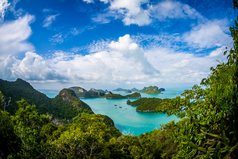 Ang Thong National Marinepark  from Above | Ang Thong, Ko Samui District by Robert Metz