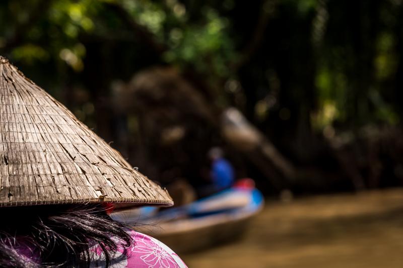 Non La   Mekong-Delta, Vietnam by Robert Metz
