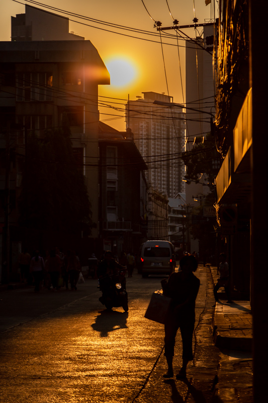Sunset in the Alley | Bangkok, Thailand by Robert Metz