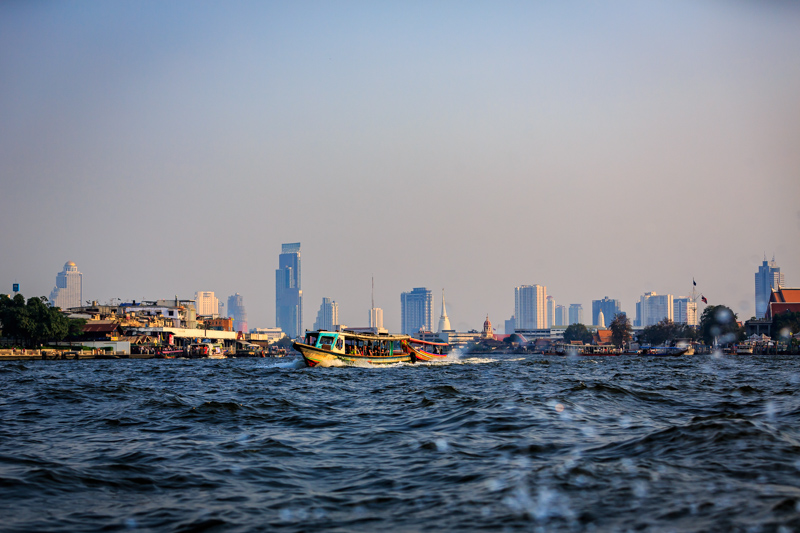 On Chao Phraya River | Bangkok, Thailand by Robert Metz