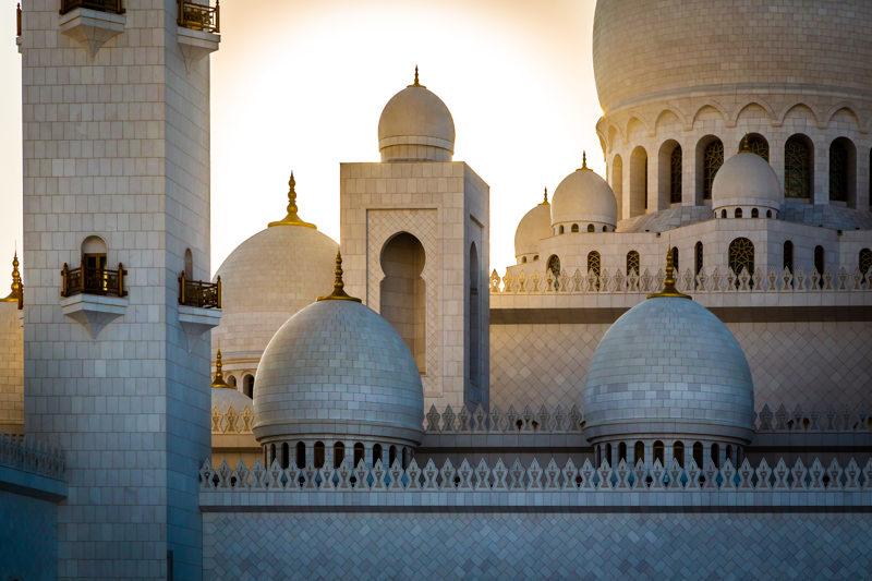 Sheikh Zayed Grand Mosque | Abu Dhabi, UAE by Robert Metz
